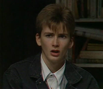 This is such an awsome picture of a very young David Tennant I saw on the Fanpop site. Can anybody tell me what film or tv show or where this picture was taken and what year?
