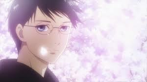 Post an anime character with glasses