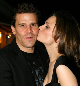 Post your actor being kissed on his cheek.