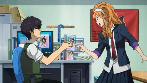 Post an animê otaku.