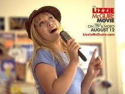 post a picture of her from the lizzie mc'guire movie (example given)