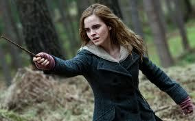 post a picture of her using a wand (example given)