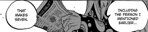 There's a secret Shichibukai in the latest manga...! Any ideas...?