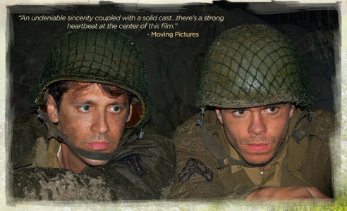 Post a picture of an actor in the army.
