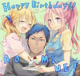 Any GUY here who will easily be able to role-play as Aomiencchi (and আপনি should support AoKise...yaoi and অথবা with female Kise)?