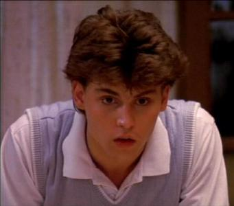 Post a pic of Johnny Depp at a young age