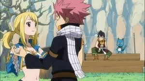 Fairy Tail - NatsuxLucy Dance by Piratenking on deviantART |Lucy And Natsu Dance