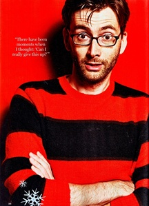 Post a picture of an actor wearing red and black.
