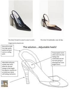Adjustable Heels? Yes oder No?