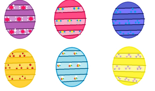 What do anda think of the Easter eggs 2 i made?