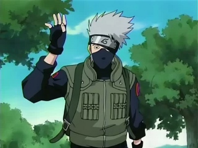Post an anime character wearing a mask