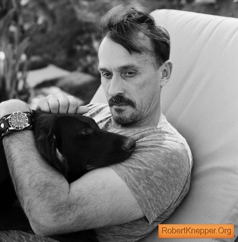 Post a pic with your actor and he's dog. lol
