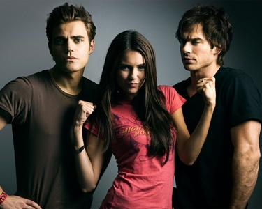 Post a pic of the threesome ( Elena, Damon, Stefan )