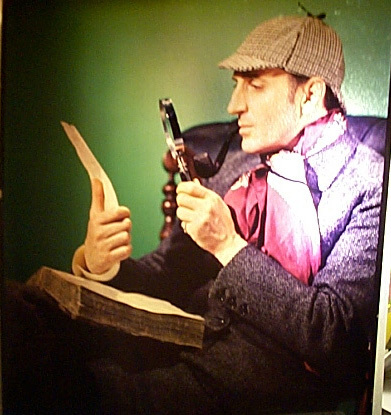 If you were ever to meet Sherlock Holmes, what would your reaction be?