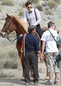 Post a pic of an actor riding a horse