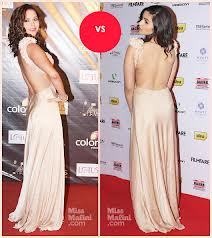 who is looking pretty in [this] same gown. alia or isha and post u r another fav pic of any 1..