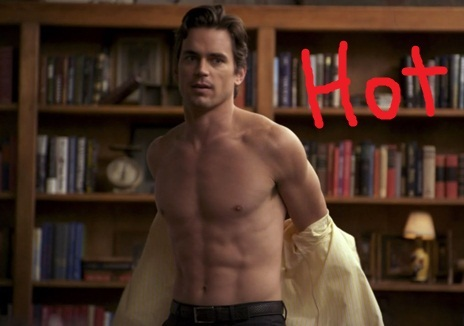 Post a picture of actor that has got 'HOT' written on it?