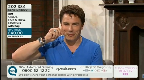 Post a picture of an actor pinching something.