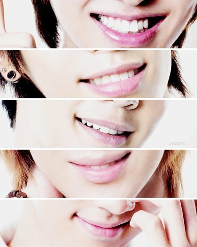 Who is the member with the most beautiful lips?