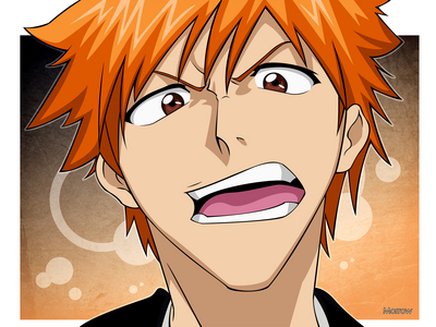 post an orange haired character anime answers fanpop