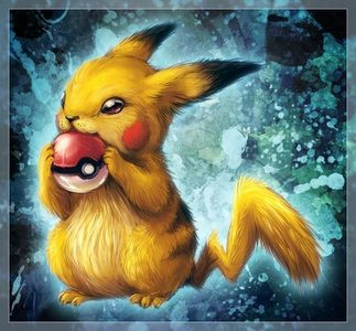 realistic Pikachu... I think it's cute!... What anda think?