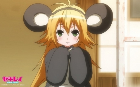 Post an anime character that constantly repeats their own name whenever they are speaking .