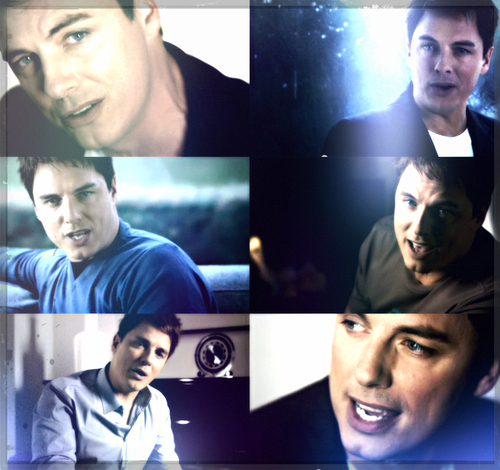 Post a collage of an actor from the same musique video/tv show.
