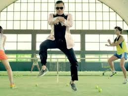 If someone came out of nowhere slapped you, did the gangnam style dance, then leave what would you?