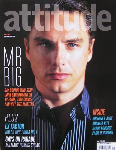Post a picture of an actor on the front of a magazine cover.