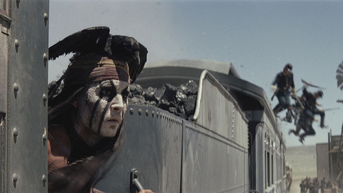 Are anda Excited To See Him As A Native American Warrior In The New Lone Ranger Movie?
