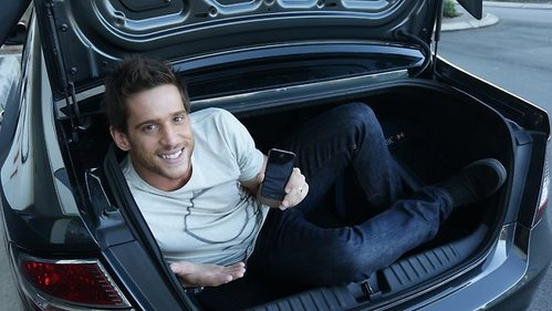 Post a picture of an actor with a phone.