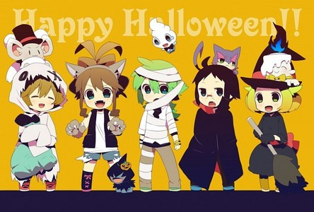 Post an anime pic that has as theme Halloween! - Anime Answers ...