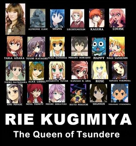 Your top3 Tsundere characters?