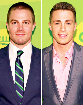 Post a picture of an actor with a green background.