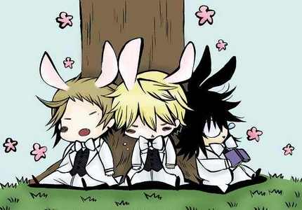 Post an Anime character(s) with rabbit ears :3