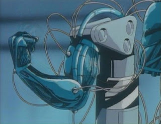 Post a robot with no या very limited emotions.