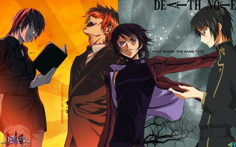 Death Note 或者 Code Geass? and why?