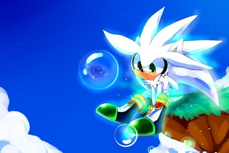 If Sonic can do a Sonic Boom and Shadow can do a Chaos Blast then what can Silver do?