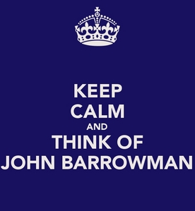 Post a picture of an actor which is a keep calm picture.