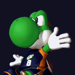 This is a serious question: Do you think Yoshi is and always should be Mario's dinosaur transpiration and nothing madami or is he madami than a dino escort through Mario worlds?