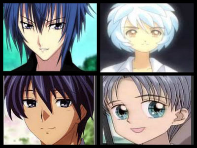 """who's your favourite anime boy with blue hair"""""""