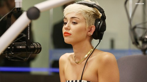 Is it true Miley is growing her hair out?