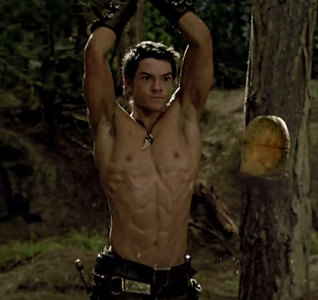 Post a picture of an actor with a bad scenery.