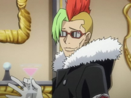 Post a character that has a very weird hairstyle
