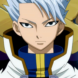 post a male anime character with white hair