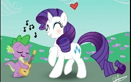 Picture contest: Spike x Rarity pics