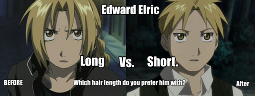 Post an anime character who 'usually' has long hair...