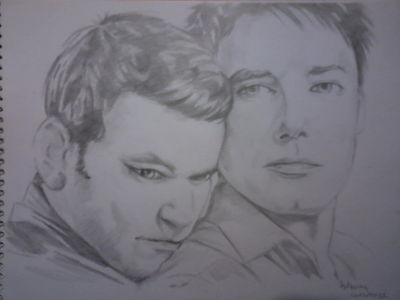 Post a picture of an actor which is a drawing.