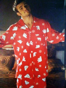 Post a pic of an actor wearing pajamas