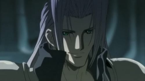well post a silvered hair Anime guy but he must have a charming look